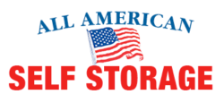 All American Self Storage in Rocklin logo